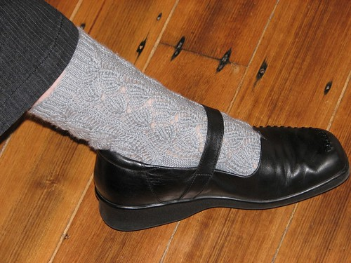 Berlin Muster socks are done!!!