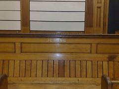 Jurors' bench