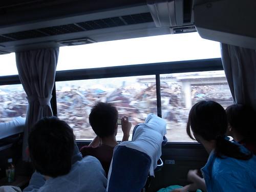 陸前高田 Rikuzentakata, deeply damaged area by the Tsunami of East Japan Quake