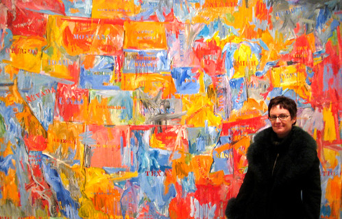 OMG!! Jasper Johns!!