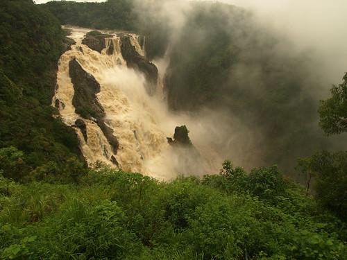 Barron Gorge Falls in full flow