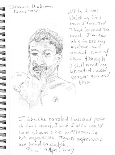 Drawing Unknown Faces, part 8