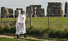 King Arthur Pendragon at Stonehenge