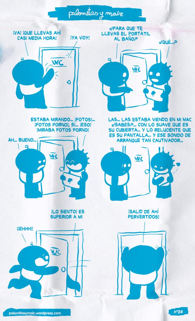 Amor en el WC!