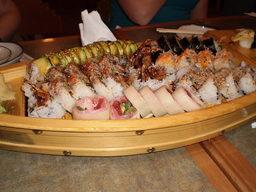 Boat Full of Sushi