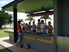 Barbeque a Cairns