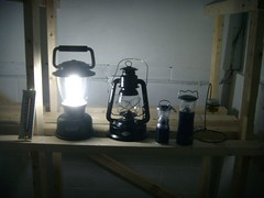 Coleman rechargeable lantern, high