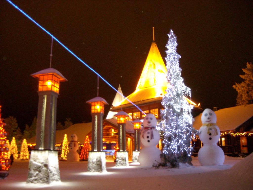 Círculo Polar Ártico (Pueblo de Papa Noel)