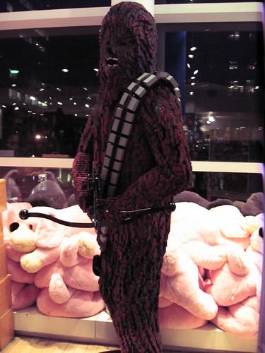 Lego Chewbacca, FAO Schwartz