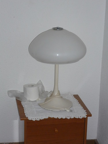 A funky lamp