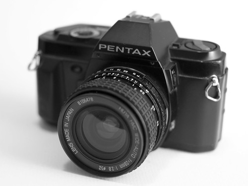Pentax P30n with Hoya 28mm f2.8 by Gary Danton