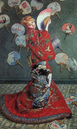 Claude Monet-La Japonaise