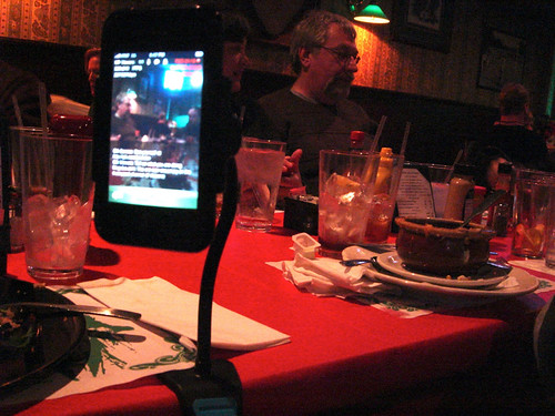 In Your Face viewbase as iPhone tripod