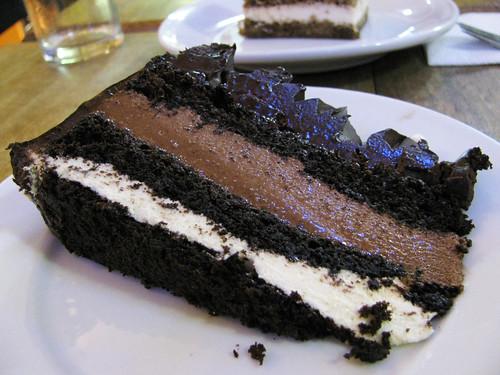 Chocolate Cake at Indulgence Cafe