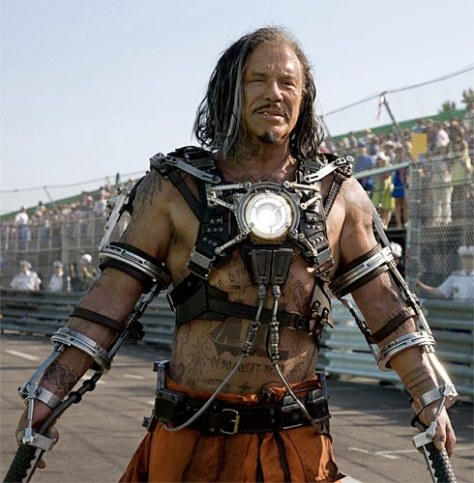 Iron Man 2 Mickey Rourke