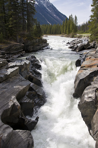 Numa Falls at Kootenay Valley