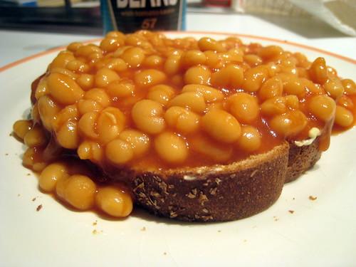 British Baked Beans on Toast