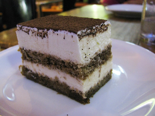 Tiramisu at Indulgence Cafe
