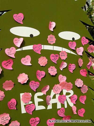 Pink Dots enemy - Fear