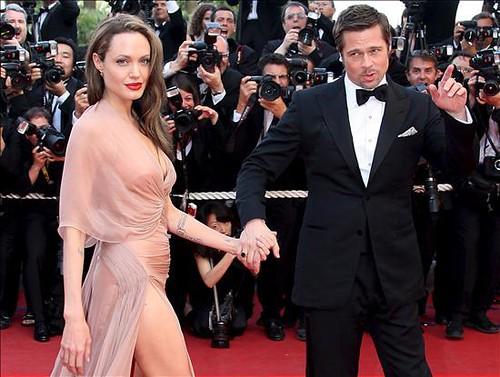 12- Brad Pitt y Angelina Jolie por ti.