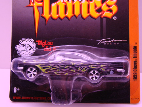 jl big lou impala black with green flames (2)