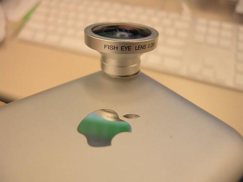 iPhone Fisheye Adaptor