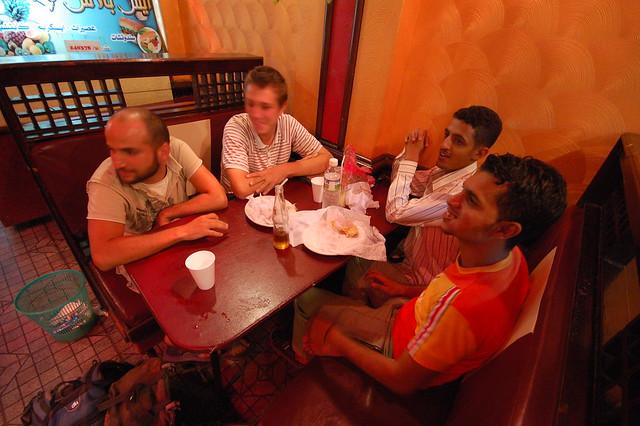 A shawrma shop in Aden