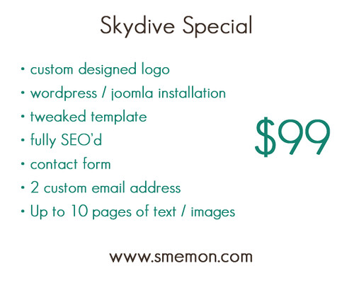 Skydive Special