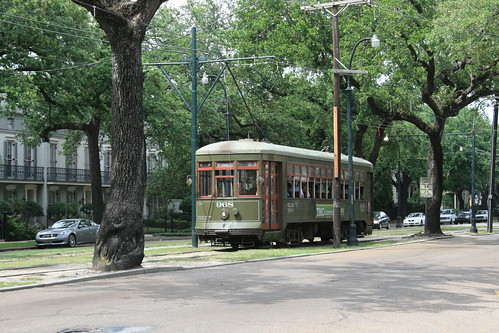 Streetcar on the St Charles line