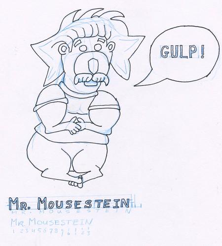 Mouse, part 7 (rough sketch)