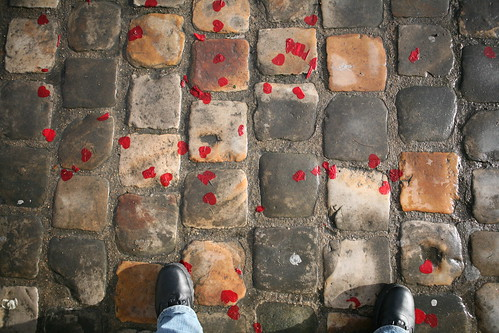 Hearts on the ground