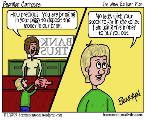 1 23 09  Bearman Cartoon Buying Banks