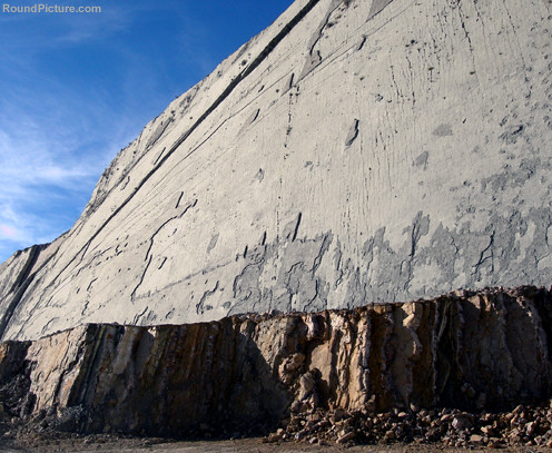 Bolivia - Sucre - Cal Orcko - The Wall