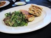la pietra cucina - chicken panini w/ salad