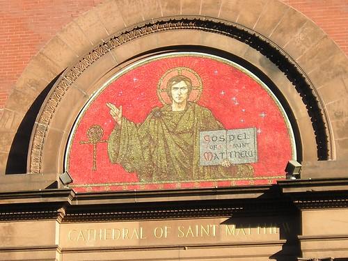 Mosaic, Cathedral of Saint Matthew