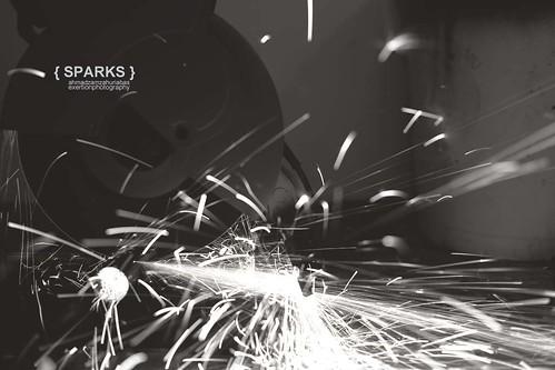 sparks by AhmadZamzahuriAbas