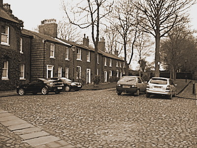 Theres a wide range of homes, from grand georgian style through to more humble cottages.