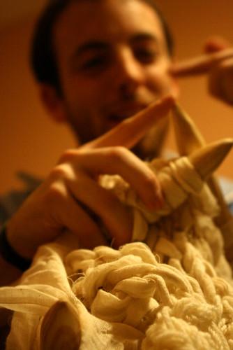 kDamo rave knitting