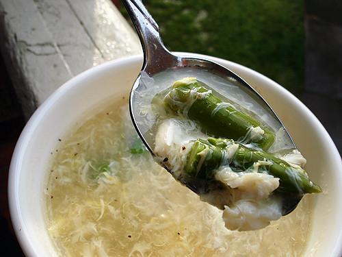 Asparagus & Crab Soup