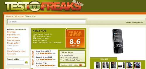 TestFreaks