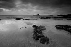 "Dark skies over Craigleith II (Mono) • <a style=""font-size:0.8em;"" href=""http://www.flickr.com/photos/26440756@N06/3446249898/"" target=""_blank"">View on Flickr</a>"