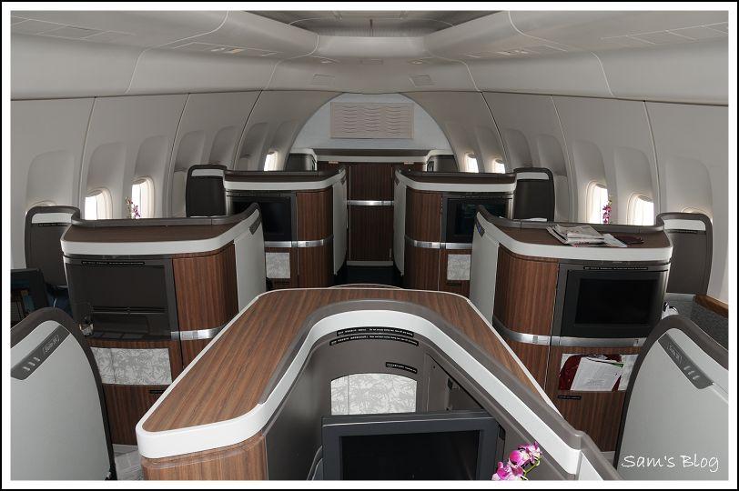國泰航空全新頭等客艙(74A) @ Sam's Blog :: 隨意窩 Xuite日誌