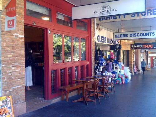 Elizabeth's boutique cafe, Glebe