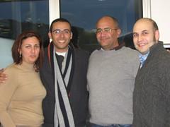 grupo de trabajo. Ana, Jose Manuel Cabrera, Antonio, Jose Manuel