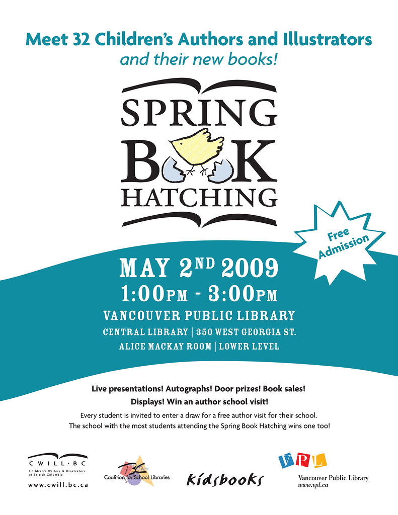 Spring Book Hatching 2009 poster