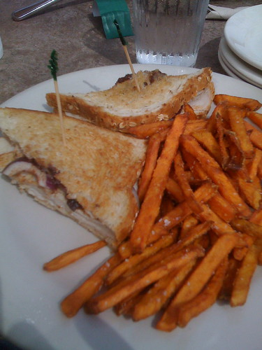 Figgy Turkey Sandwich at Uncommon Ground