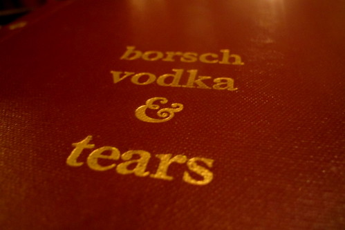 Borsh Vodka & Tears