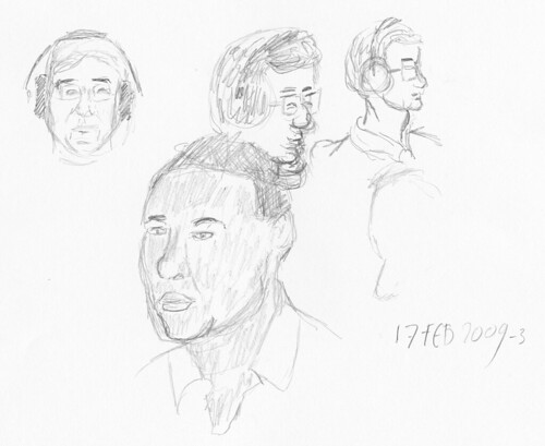 Drawing Leo Laporte - MBW 2009-02-17-a