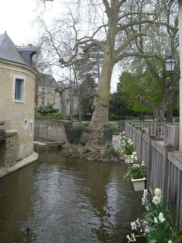 The beautiful town of Vendome