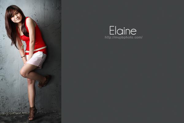 Elaine..